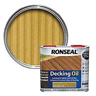 Ronseal Natural pine Decking Wood oil, 2.5L