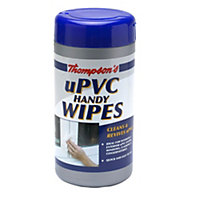 Thompson's uPVC Handy Wipes, pack of 36