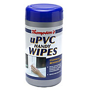 Thompson's uPVC Handy Unscented Wipes, Pack of 36