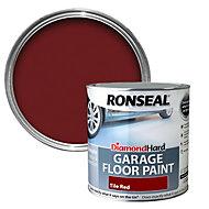 Ronseal Diamond Tile red Satin Garage floor paint 2.5L