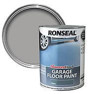 Ronseal Diamond hard Slate Satin Garage floor paint, 5L