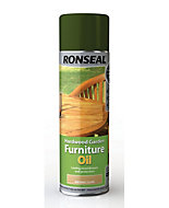 Ronseal Clear Matt Hardwood garden furniture oil 0.5L