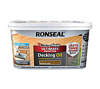 Ronseal Perfect finish Natural oak Decking Wood oil, 2.5L
