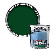 Ronseal Diamond hard Green Satin Garage floor paint, 5L