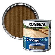 Ronseal Country oak Matt Decking Wood stain, 5L