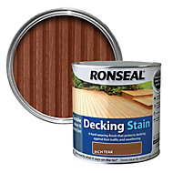 Ronseal Rich teak Matt Decking stain 5L
