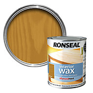 Ronseal Diamond hard Dark oak Matt Wood wax, 0.75L