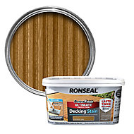 Ronseal Perfect finish Country oak Decking Wood stain, 2.5L