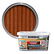 Ronseal Perfect finish Cedar Decking Wood stain, 2.5L