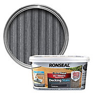 Ronseal Perfect finish Charcoal Decking Wood stain, 2.5L
