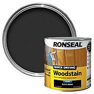 Ronseal Ebony Satin Wood stain, 2.5