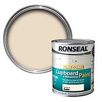 Ronseal Sandstone Satin Cupboard paint 750 ml