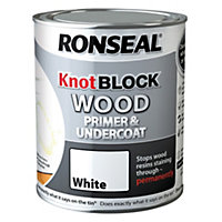 Ronseal Knot Block White Wood Primer & undercoat 0.25L