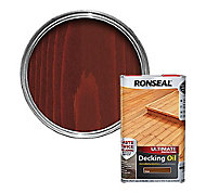 Ronseal Ultimate Teak Decking Wood oil, 5L