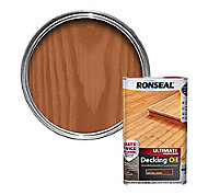 Ronseal Ultimate Natural cedar Decking Wood oil, 5L