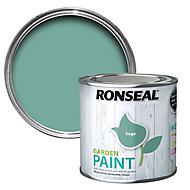 Ronseal Garden Sage Matt Metal & wood paint, 0.25L