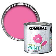 Ronseal Garden Pink jasmine Matt Metal & wood paint, 0.25L