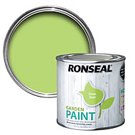 Ronseal Garden Lime zest Matt Metal & wood paint, 0.25L