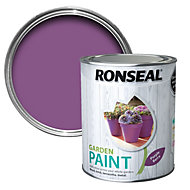 Ronseal Garden Purple berry Matt Garden paint 0.75L