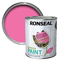 Ronseal Garden Pink jasmine Matt Metal & wood paint, 0.75L