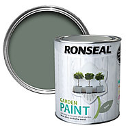 Ronseal Garden Slate Matt Metal & wood paint, 0.75L