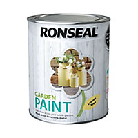 Ronseal Garden Lemon tree Matt Metal & wood paint, 0.75