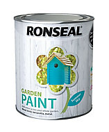 Ronseal Garden Summer sky Matt Metal & wood paint, 0.75L