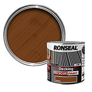 Ronseal Rescue Matt maple Decking paint, 2.5L