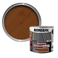 Ronseal Rescue Matt maple Decking paint, 2.5L