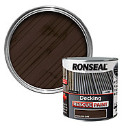Ronseal Rescue Matt english oak Decking paint, 2.5L