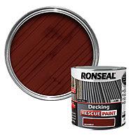 Ronseal Rescue Matt bramble Decking paint, 2.5L