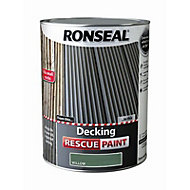 Ronseal Rescue Matt willow Decking paint, 5L