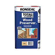 Ronseal Total Clear Matt Wood preserver, 5L