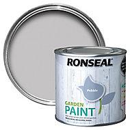 Ronseal Garden Pebble Matt Metal & wood paint, 0.25L