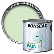 Ronseal Garden Mint Matt Metal & wood paint, 250
