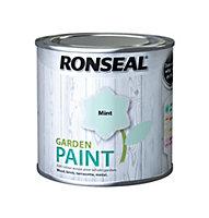 Ronseal Garden Mint Matt Paint 0.25L