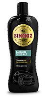 Simoniz Carnauba Car wax, 0.5L Bottle