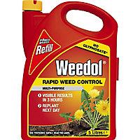 Weedol Refill Rapid Weed killer 5L 5kg