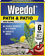 Weedol Path & patio Concentrated Weed killer 0.13L, Pack of 6