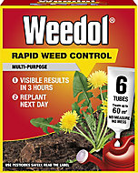 Weedol Rapid Concentrated Weed killer 0.13L 0.12kg, Pack of 6