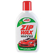 Turtle Wax Zipwax Wash & wax, 0.5L Bottle