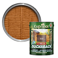 Cuprinol 5 Year Ducksback Harvest brown Shed & fence treatment 5L