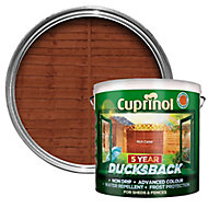 Cuprinol 5 year ducksback Rich cedar Fence & shed Wood treatment, 9L