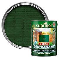 Cuprinol 5 Year Ducksback Forest green Shed & fence treatment 5L