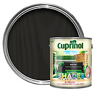 Cuprinol Garden shades Black ash Matt Wood paint, 2.5L