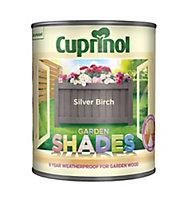 Cuprinol Garden shades Silver birch Matt Wood paint, 1L