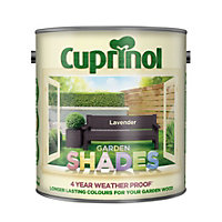 Cuprinol Garden Shades Lavender Matt Wood paint 2.5L