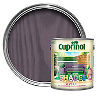 Cuprinol Garden shades Lavender Matt Wood paint, 2.5L