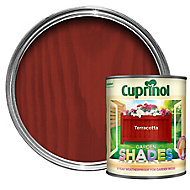 Cuprinol Garden shades Terracotta Matt Wood paint, 1L