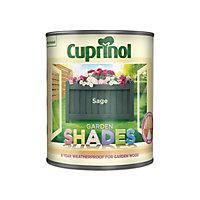 Cuprinol Garden shades Sage Matt Wood paint, 1L